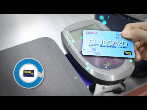 All New Tesco Clubcard With Touch N Go Youtube
