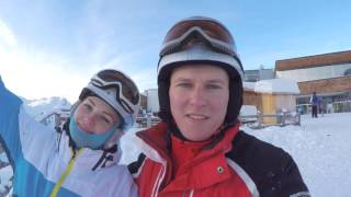 Катание на лыжах в Австрии (Ишгль, Санкт-Антон, Лех, Зельден)(Январь 2016 г., 2016-02-21T16:39:51.000Z)