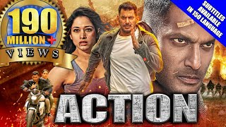 Action (2020) New Released Hindi Dubbed Full Movie | Vishal, Tamannaah, Aishwarya Lekshmi, Yogi Babu Thumb