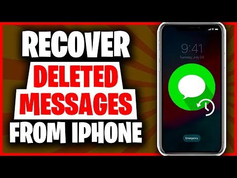 3 Ways to Recover Deleted Messages on iPhone 2020   How to Recover Deleted Messages on iPhone