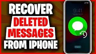 3 Ways to Recover Deleted Messages on iPhone 2019 |  How to Recover Deleted Messages on iPhone