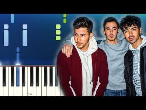 Jonas Brothers - Sucker Piano Tutorial