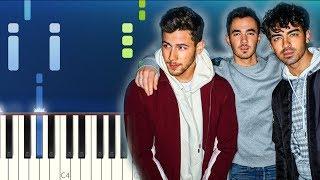 Jonas Brothers - Sucker (Piano Tutorial)