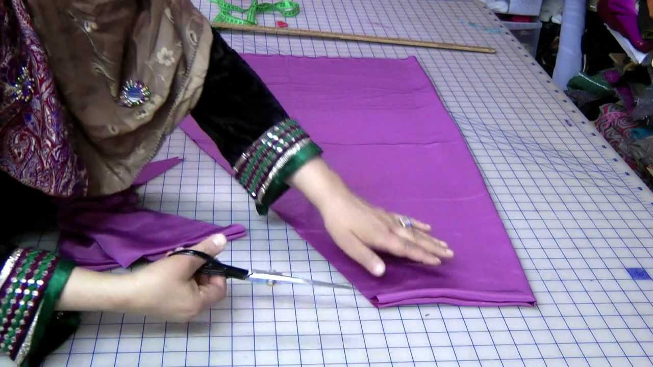 Image result for How to- Cut & Sew a Salwar Kameez Suit