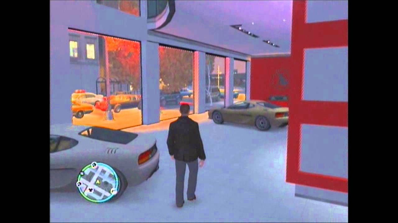 4 magasin de voiture de luxe gta iv ps3 youtube for Voiture garage gta 5