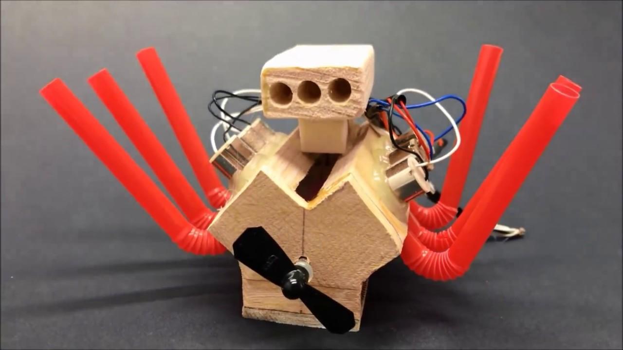 how to make powerful mini v6 motor for toys youtube