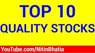 Top 10 Quality Stocks (HINDI)