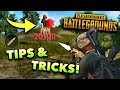PUBG Mobile BEST Tips and Tricks!!