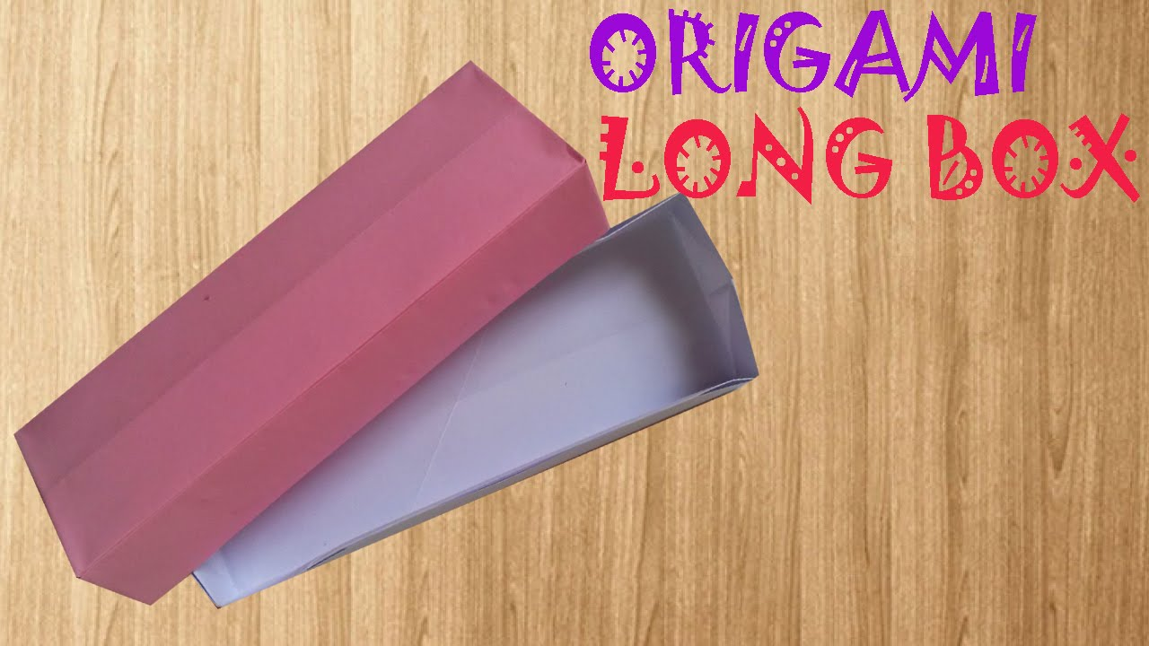 How to make a rectangular paper box - Origami DIY - YouTube | 720x1280