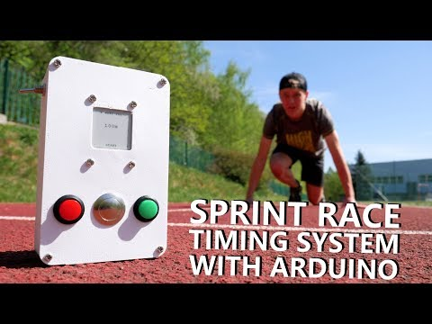 DIY Sprint Race Timing System with Arduino thumbnail