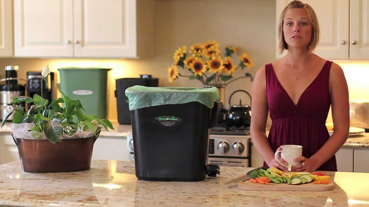 introducing the compokeeper kitchen compost container