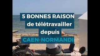 Choisir Caen pour vivre et télétravailler !