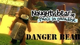 Naughty bear Panic in Paradise part 21: Danger bear in danger