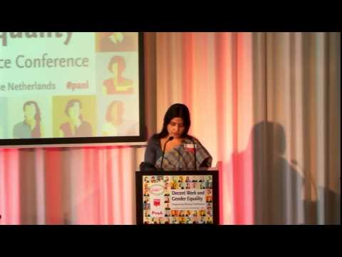 Dimple Yadav, Speech at Progressive Alliance Conference, Rotterdam