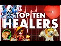 SUMMONERS WAR : Top 10 Healers!