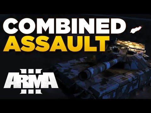 ZEUS - COMBINED ASSAULT   ARMA 3 [ARES, JSRS3 Dragonfyre, Blastcore Phoenix]