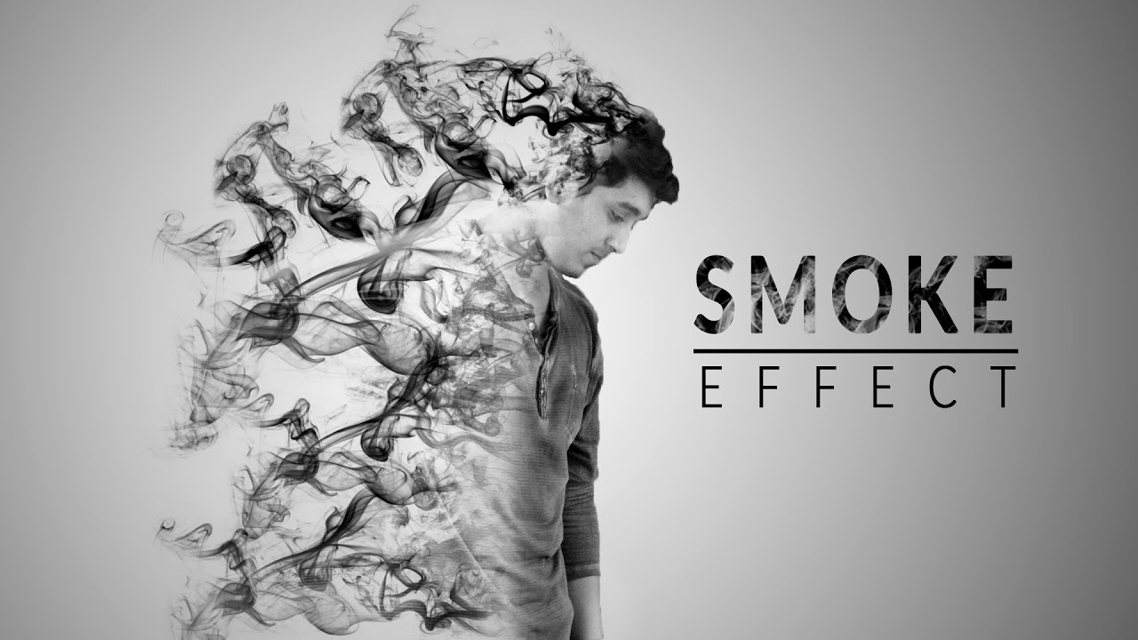 How to create smoke text effect in photoshop | photoshop tutorials.