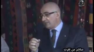 السيد الأمين العام للمحافظة السامية للامازيغية والسيد الوالي المنتدب للمقاطعة الادارية توقرت