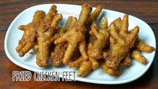 Thai Foods | Fried Chicken Feet