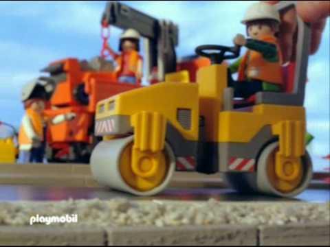 Serie de la construccion de playmobil