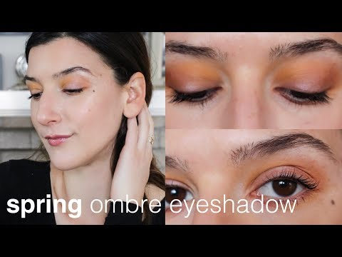 Spring Ombre Eyeshadow | Clean, Green and Non-toxic