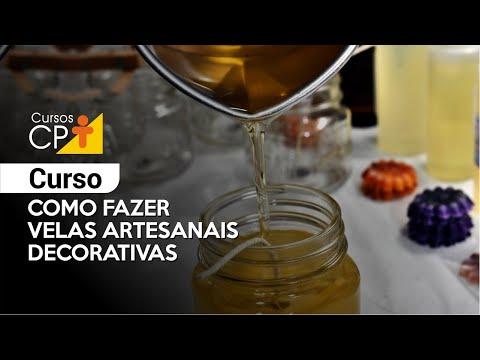 Clique e veja o vídeo Curso Como Fazer Velas Artesanais Decorativas