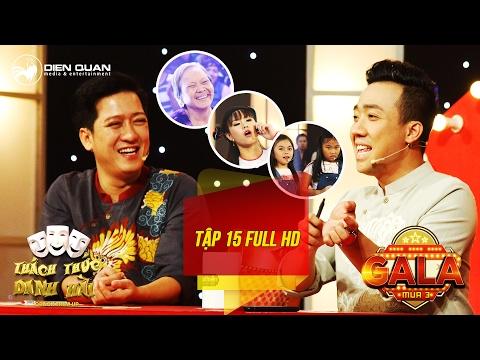 Thách thức danh hài 3| tập 15 full hd (gala 1): Trấn Thành cười không ngớt trước cụ bà 73 tuổi