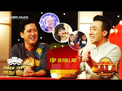 Thách thức danh hài 3| tập 15 full hd (gala 1): Trấn Thành cười không ngớt trước cụ bà 73 tuổi - YouTube