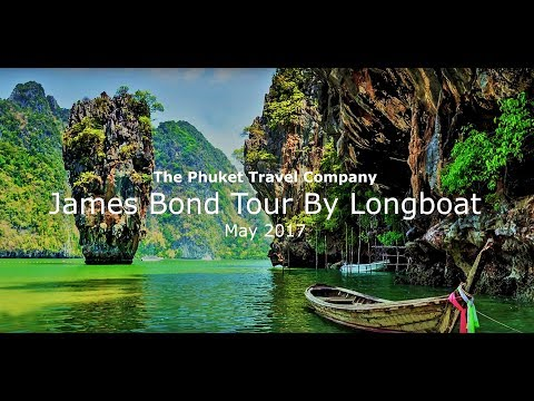 James Bond Island Tour By Longtail Boat May 2017 HD