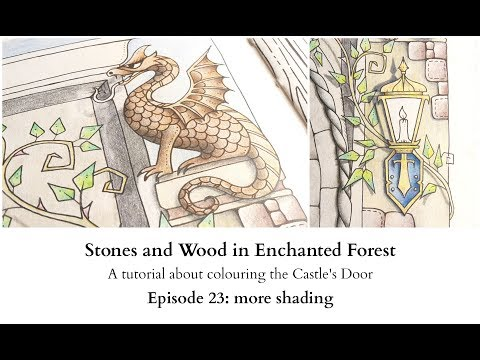 Stones and Wood in Enchanted Forest- Episode 23 - More layering