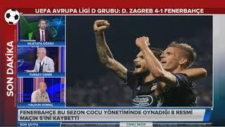 Dinamo Zagreb 4 1 Fenerbahçe Turgay Demir ve Haldun Domaç Yorumları Uefa Avrupa Ligi