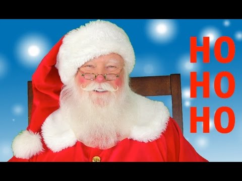 Santa Claus HO HO HO Merry Christmas ✅ - YouTube