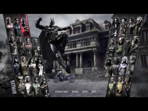 Injustice: Gods Among Us Ultimate Edition Gameplay |