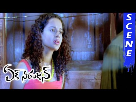 Prabhas Gets Emotional About Kangana Ranaut - Ek Niranjan Movie Scenes