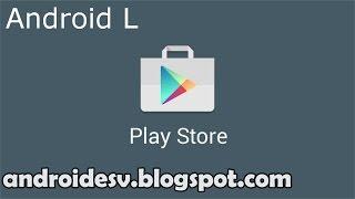 Google Play Store v5.0.32 [Apk] [Android 5.0] [Material Design] [Instalación] [HD]