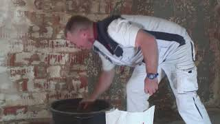 Nasser, feuchter Keller? In 6 Schritten zur trockenen Wand mit Feuchteregulierungsputz