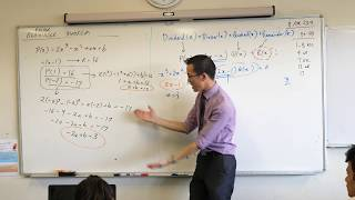 Remainder & Factor Theorem (3 of 3: Determining a polynomial from remainders)