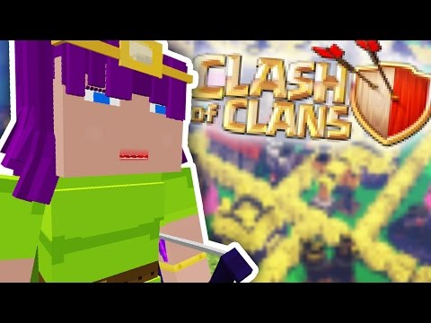 Minecraft CLASH OF CLANS MOD
