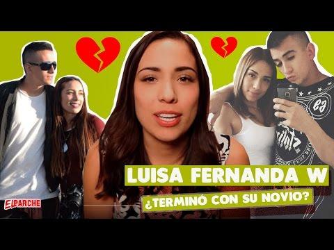 ¿Luisa Fernanda W y su novio terminaron luego del escándalo?   Revista El Parche