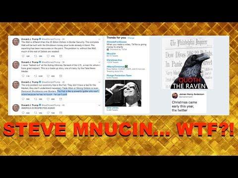 Steve Mnuchin: WTF?! | Quoth the Raven, Chris Irons