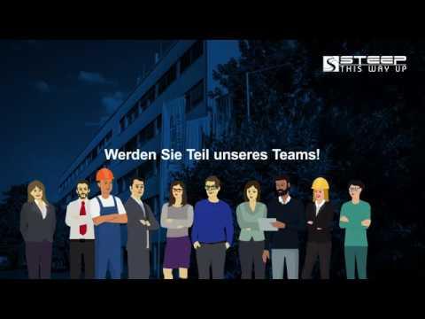 Die steep GmbH als Arbeitgeber
