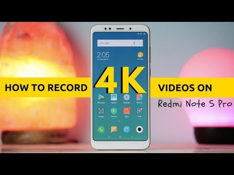 How To Record 4K Videos on Redmi Note 5 & Note 5 Pro
