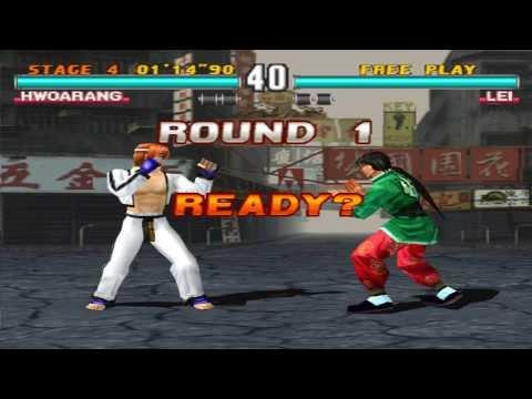 Tekken 3 Enhanced Graphics - Hwoarang