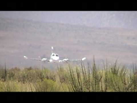Cessna 340A Taking-off from Las Tacas (SCQT)