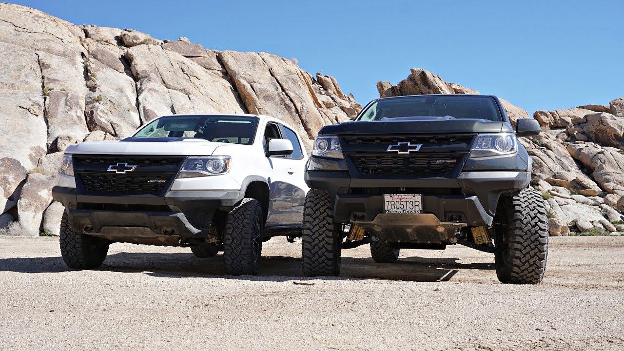 "Colorado ZR2 Rock Crawling / Stock + Duramax w/ 4"" BDS ..."
