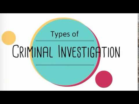 Criminal Private Investigations