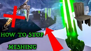 HOW TO DEFEND YOUR BASE FROM GETTING MESHED!? Ark official servers
