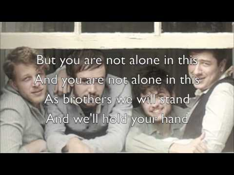 """Timshel"" - Mumford & Sons (Official Lyrics)"