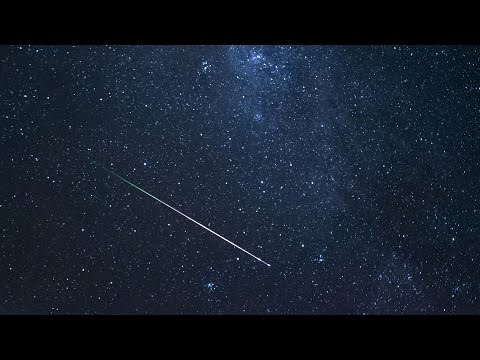 The annual Perseid meteor shower could be especially good this year because the moon is nearly new when the shower peaks on Aug. 12-13.