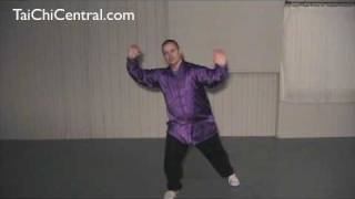 "24 form tai chi - Lesson 27 - ""Cross Hands"" and ""Conclusion"""